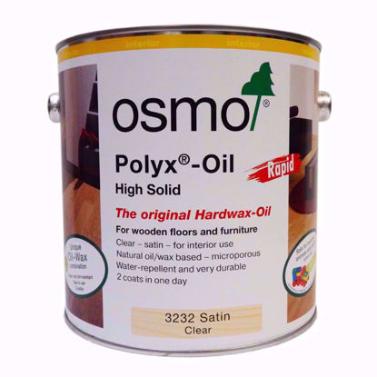 Picture of Osmo Polyx Oil Rapid Hardwax Wood Finish