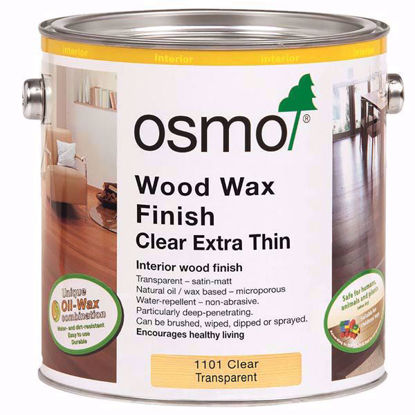 Picture of Osmo Wood Wax Finish Clear Extra Thin 1101