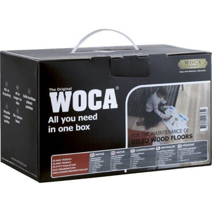 Picture of WOCA Maintenance Kit for Natural Oiled Floors