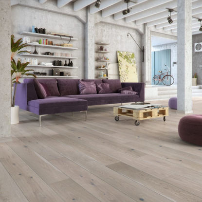 Picture of Clementine Engineered Brushed, Grey Stained & Matt Lacquered Rustic Oak VA34