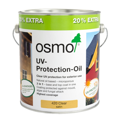Picture of Osmo UV-Protection Oil Clear Extra 420 3L Promotional Tin